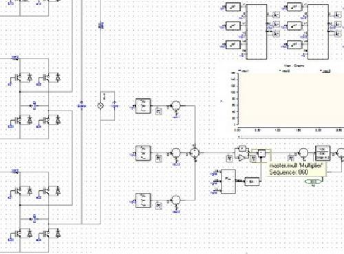 059 - شبیه سازی مقاله معتبر IEEE: کنترل مبدل اینورتر چندسطحی در سیستم خورشیدی